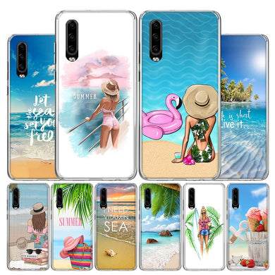 Coque P20 LITE Hawaii surf summer beach