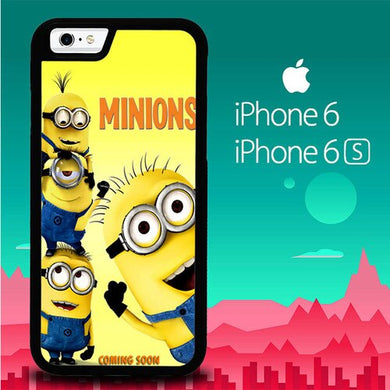 Minion New P1022 coque iPhone 6, iPhone 6S