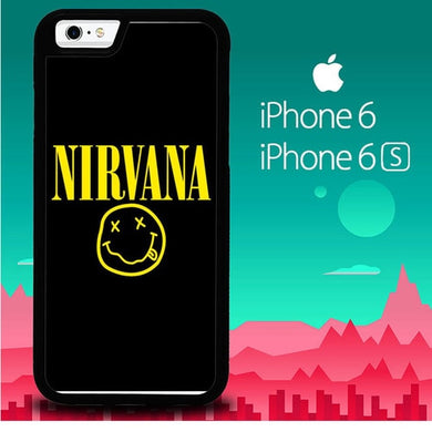 Nirvana P1067 coque iPhone 6, iPhone 6S