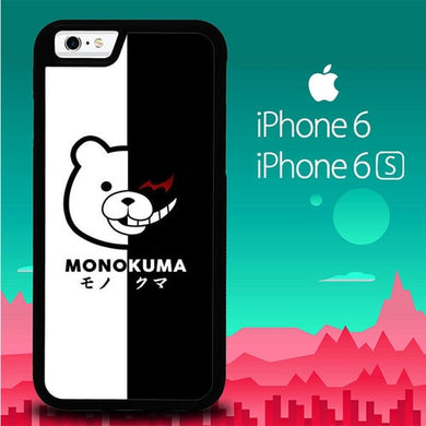 MONOKUMA P1075 coque iPhone 6, iPhone 6S