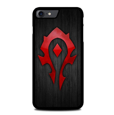 world of warcraft horde logo Z4853 iPhone 7 , iPhone 8 coque