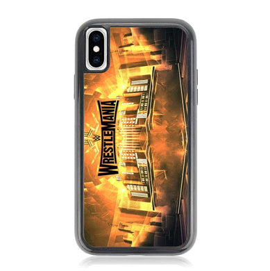wrestlemania 35 Z4585 iPhone XS Max coque