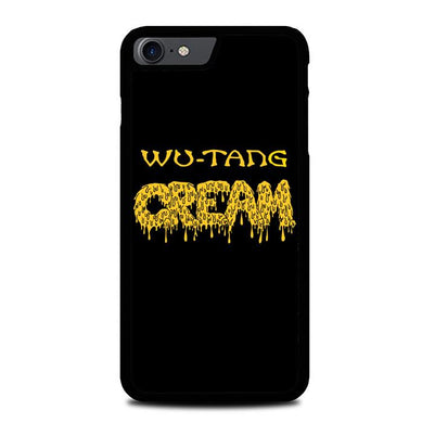 wu tang cream logo Z3728 iPhone 7 , iPhone 8 coque