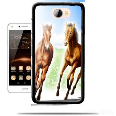 y6 2017 huawei coque cheval