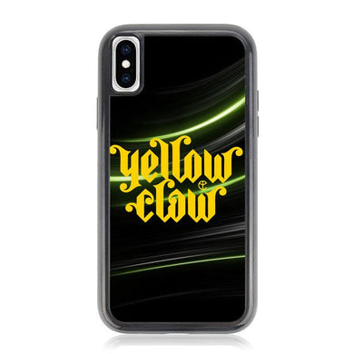 yellow claw logo Z3721 iPhone XS Max coque