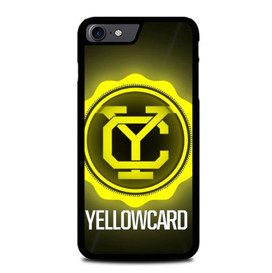 yellowcard logo Z3723 iPhone 7 , iPhone 8 coque