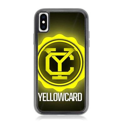 yellowcard logo Z3723 iPhone XS Max coque