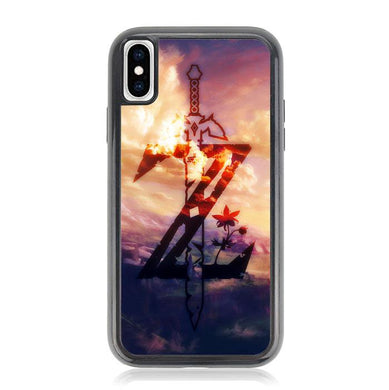 zelda breath of the wild logo Z4317 iPhone XS Max coque