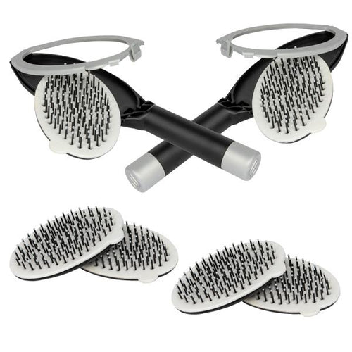2 X-Static Hairbrush & 2 Refill Pack - ForBabs