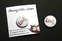 Load image into Gallery viewer, 1 In Minimal Love Wins Pin Badge