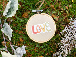 Love Wins Handmade Ornament