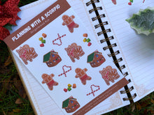 Load image into Gallery viewer, Gingerbread Rye Decorative Sticker Sheet