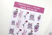 Load image into Gallery viewer, Spooky Spring Minimal Planner Stickers | Spooky Spring 004