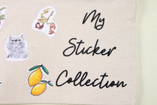 Load image into Gallery viewer, Rachel's Sticker Collection Gift Set | 5x8in Canvas Pouch and 5 Sticker Sheets