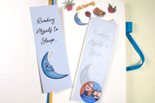 Load image into Gallery viewer, Handmade Card Stock Moon Bookmark