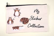 Load image into Gallery viewer, Rye's Sticker Collection Canvas Pouch