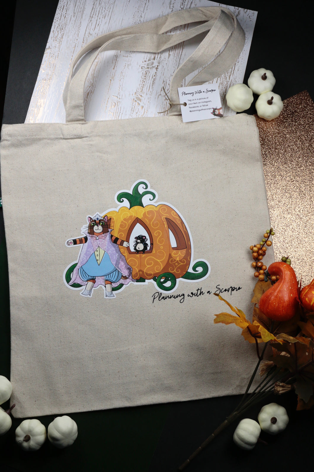 Chonkerella Recycled Canvas Tote Bag