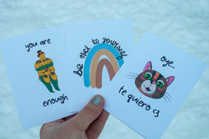 You are Enough Greeting Card
