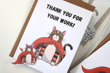 Load image into Gallery viewer, Rye's A Super Hero! | Thank you & Appreciation Blank Greeting Card