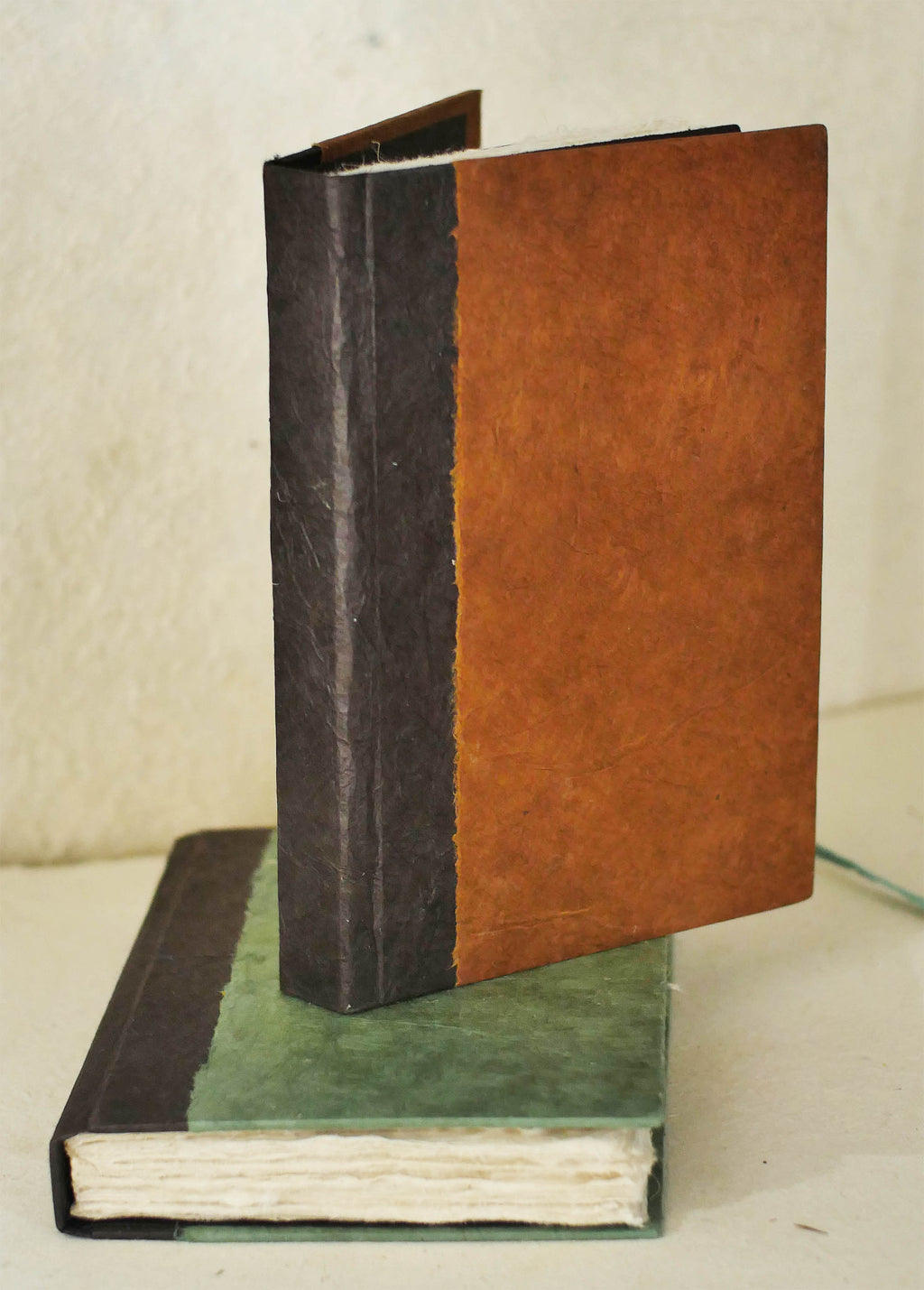 6 x 9 Hard Cover Sagarmtha Journal - deckle edge lokta pages