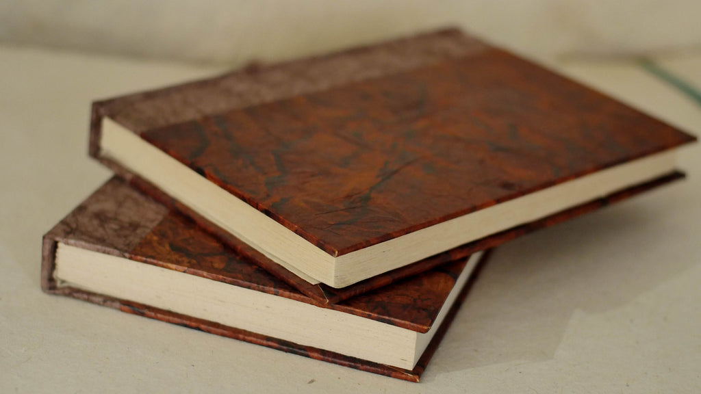 Hard Cover Rustic Journal Clean-cut Pages