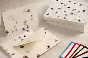 Cornflower Gift Card Set with Box