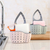 Sink Double Drain Bag Kitchen Gadgets Storage Basket