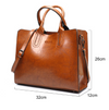 Leather Handbags Big  High Quality Casual Female Bags  Brand Shoulder Bag Ladies Large