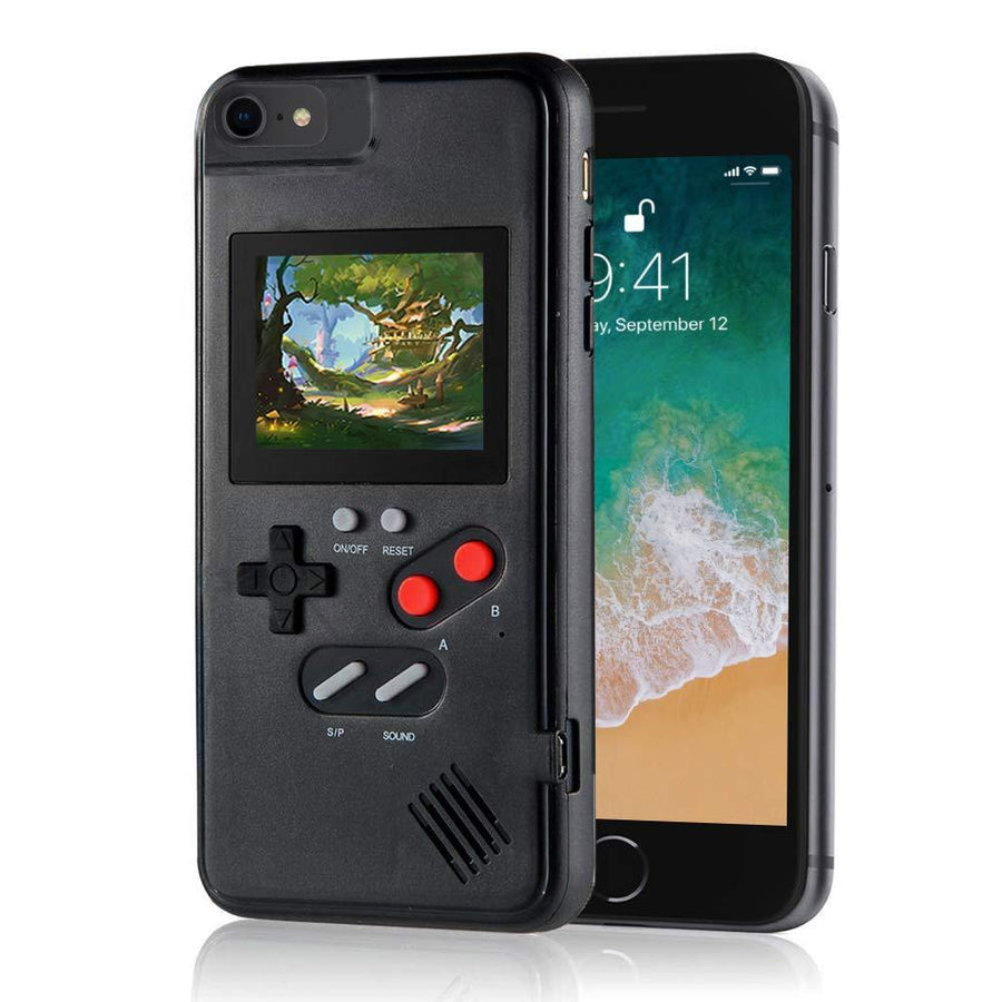 Retro Gaming iPhone Case With 36 Color Games