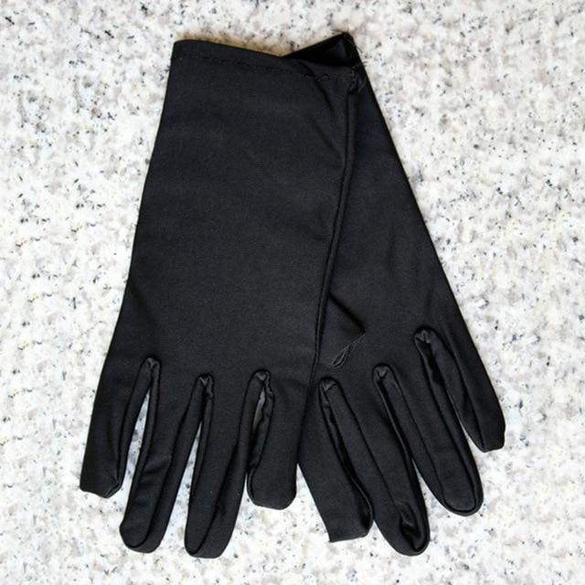 1 Pair Sunscreen Lace Short Paragraph Gloves Women's