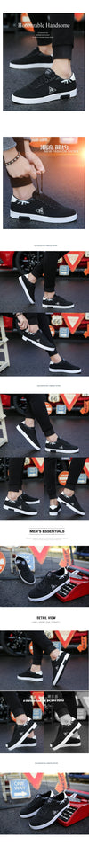 Spring 2019 New Korean Fashion Men's Shoes