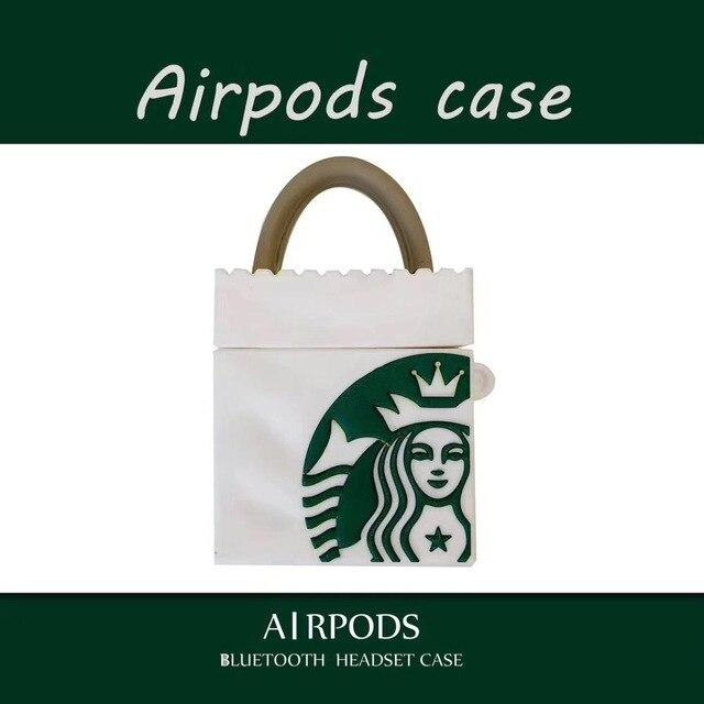 Coffee Bag Airpod Case