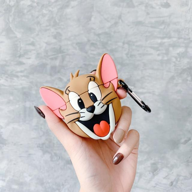 Tom and Jerry Airpod Case