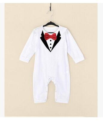 MY GENTLEMAN BABY SUIT ROMPER