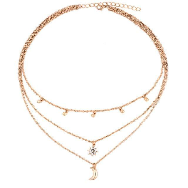 'CLAIRE' STAR NECKLACE