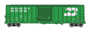 Walthers Mainline HO 910-1804 50' ACF Exterior Post Box Car, Burlington Northern