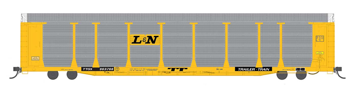 InterMountain HO Scale L&N Auto Rack