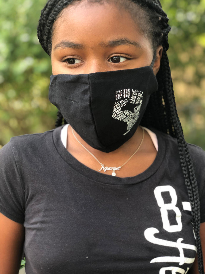 Fist- Black Lives Matter Masks
