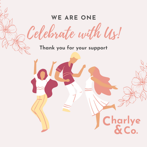 Charlye & Co., fashion e-commerce that sells earrings first anniversary celebration