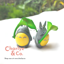 Load image into Gallery viewer, Totoro Earrings from Studio Ghibli My Neighbour Totoroby Charlye & Co, a fashion accessories shop in Singapore