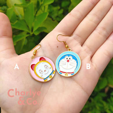 Doraemon & Dorami Earrings