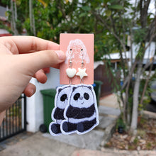 Load image into Gallery viewer, Panda & Grizzly We Bare Bears Earrings
