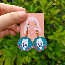 Load image into Gallery viewer, Forky Earrings from Disney Toy Story by Charlye & Co., Singapore's home-grown fashion e-commerce.