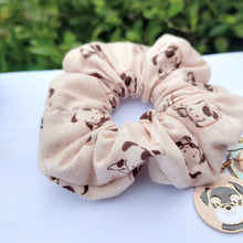 Load image into Gallery viewer, Dog scrunchie and earrings by Charlye & Co, a fashion accessories shop in Singapore
