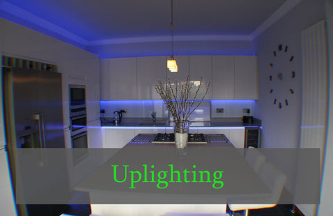 LED Uplighting For Kitchens From Eden Illumination - Kitchen up lighting