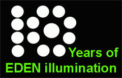 10 Years of Eden illumination