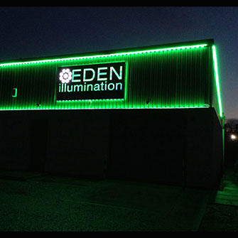 Eden illumination - :LED Green 230V Strip