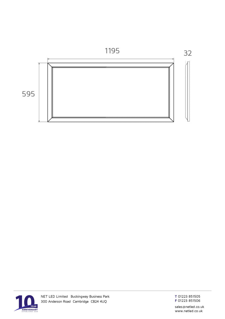 43 03 94 LED Light Panel Ceiling