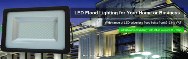LED Driverless Flood Lights - Eden illumination