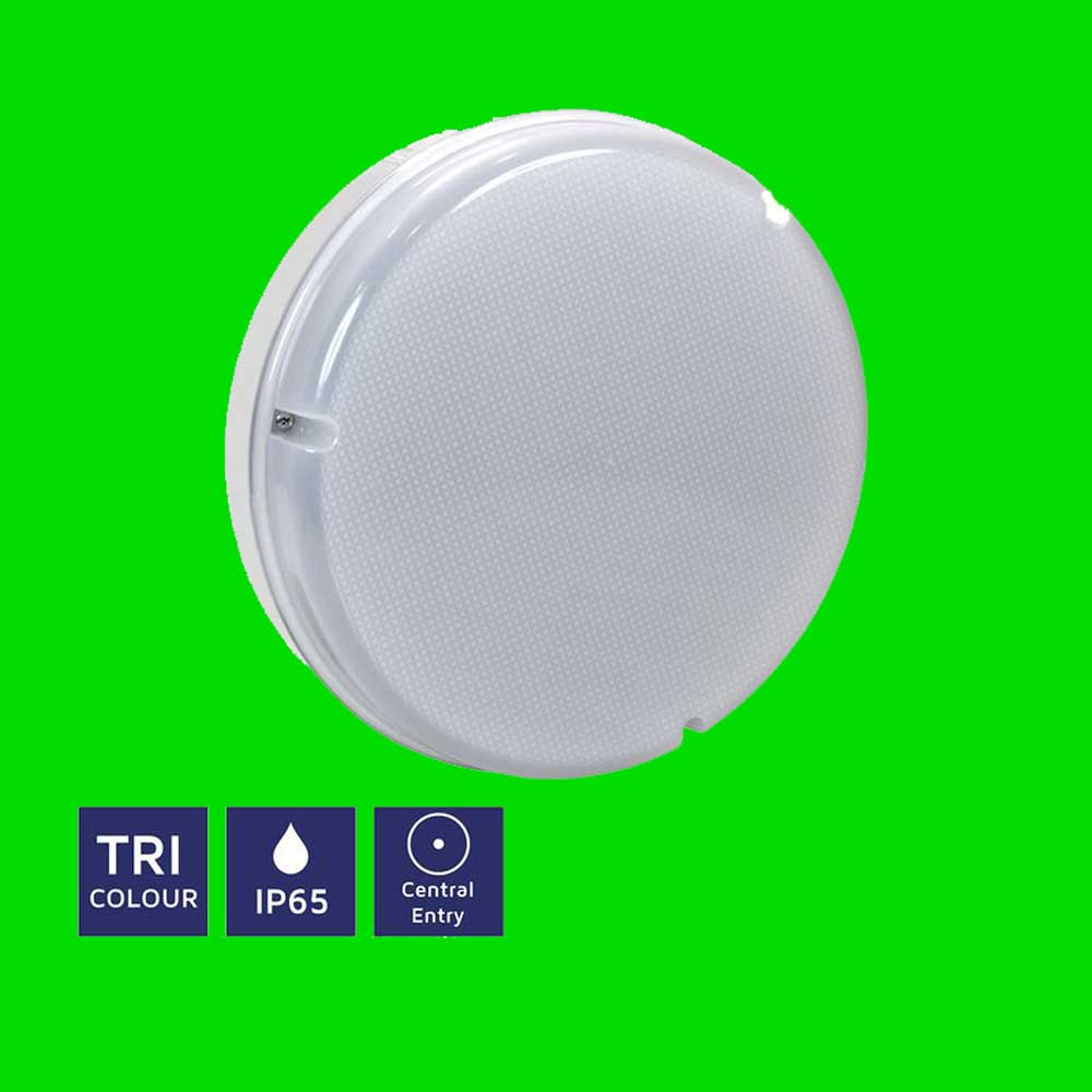 Circular TRI Colour IP65 Bulkhead 11-06-52 - Eden illumination - LED Lighting & Kitchen Lighting - Fife, Scotland